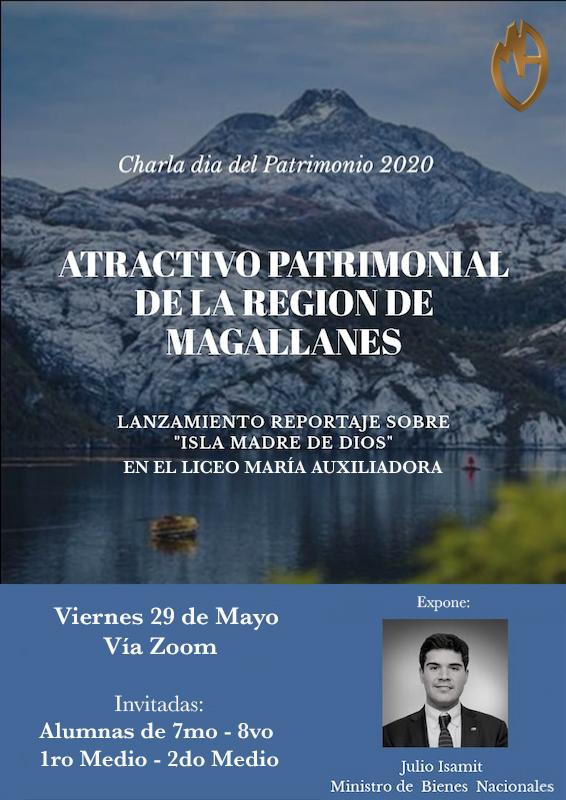Invitación a charla Día del Patrimonio